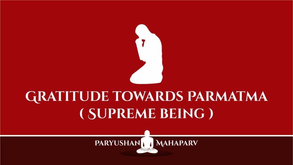 Gratitude towards paramatama