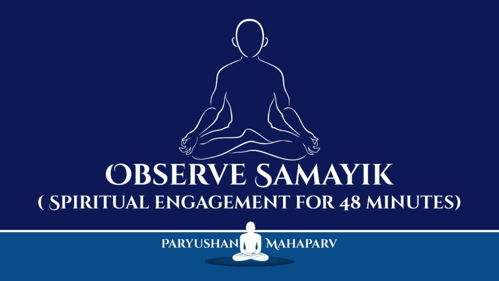 Observe Samayik