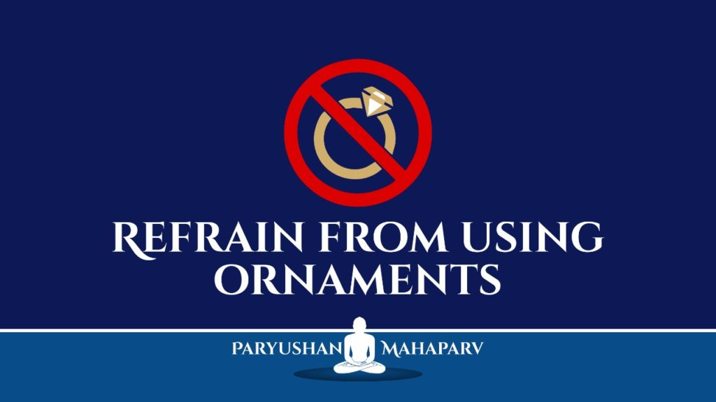 Refrain From Using Ornaments