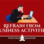 Refrain from Business Activities