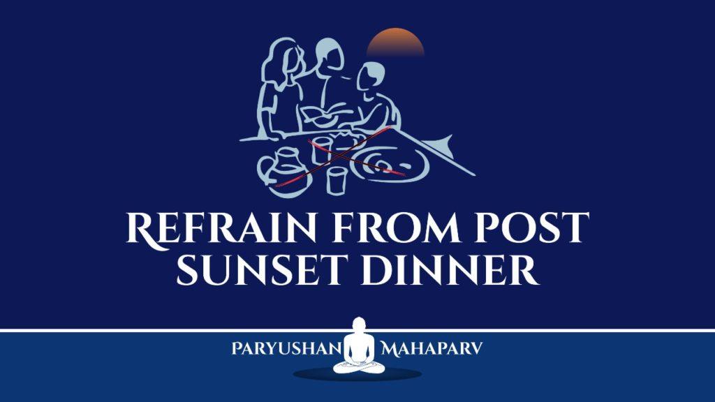 Refrain from Post-Sunset Dinner